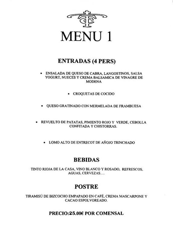 menu despedida fuengirola