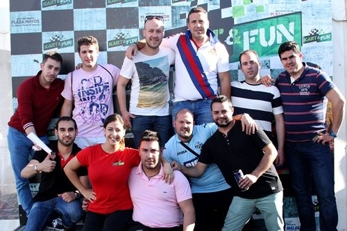 karting despedida