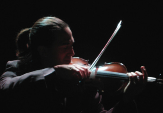músico violin
