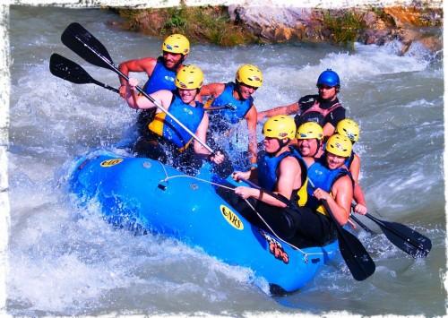 rafting rio genil