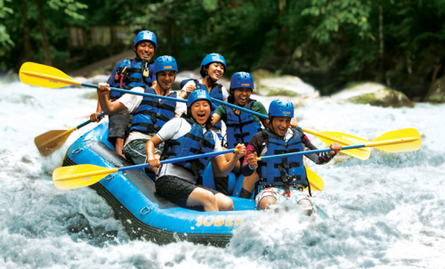 rafting despedida