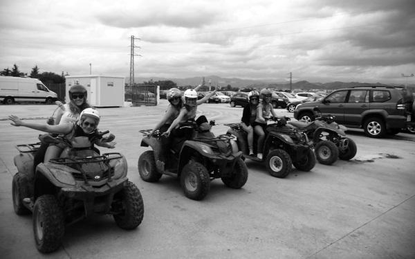 quads malaga