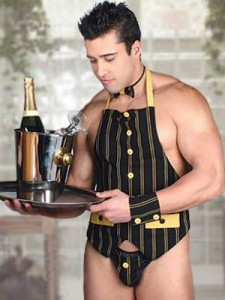 camarero erotico