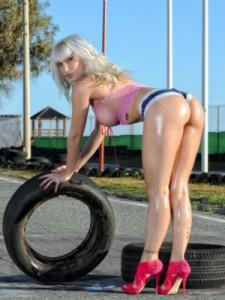 Estela striptease